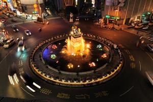 【嘉義市】中央噴水池
