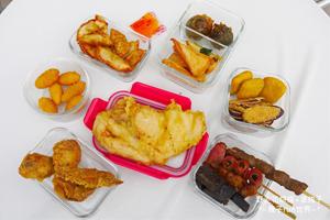 【台中·南屯區】紅帽炸物|獨家醬汁令人吮指回味,食材多、冷藏保鮮。