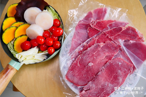 【台中·北區】日盛精緻牛排館|火鍋肉片在日盛牛肉買,在家想吃火鍋隨時有鮮嫩多汁的肉片!