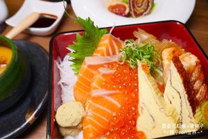 【台中·西區】日月湖日本料理 噓~老闆級的都來這吃高級日本料理~新鮮食材,精緻擺盤!有商業午餐!