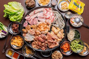 【嘉義】豬對有韓式烤肉吃到飽|多種新鮮肉品、熟食吃到飽,韓式泡菜、生菜包豬肉應有盡有,超推薦!