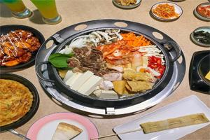 【台中·西屯】GangNam首爾韓鍋|學生最愛高CP值韓式料理,還有紫米飯、飲料、小菜無限供應!