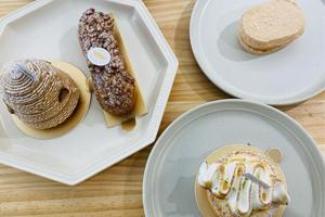 【台中·西區】patisserie marmotte 以土撥鼠為名的甜點,萌萌泡芙口感滑順又有層次!