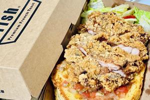 【台中‧西區】Ivorish東京超人氣法式吐司|色香味俱全的炸雞法式吐司餐盒,還有生菜可以解膩!!