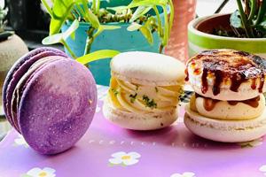 【彰化‧秀水】偷食甜點工作室|充滿創意且精緻的馬卡龍,有著完美無瑕的表面,讓你想要不停地拍照!!